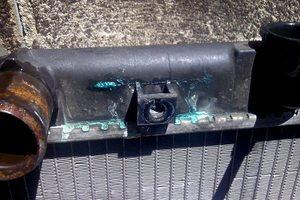 Протечка радиатора.