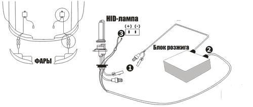 Электрическая схема подключ