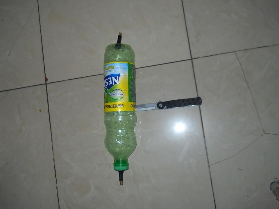 Подготовленная бутылка