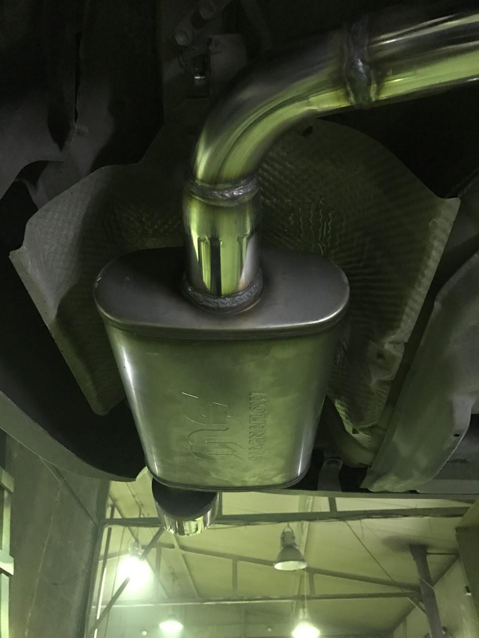 Изолятор для термозащиты пола от горячего глушителя