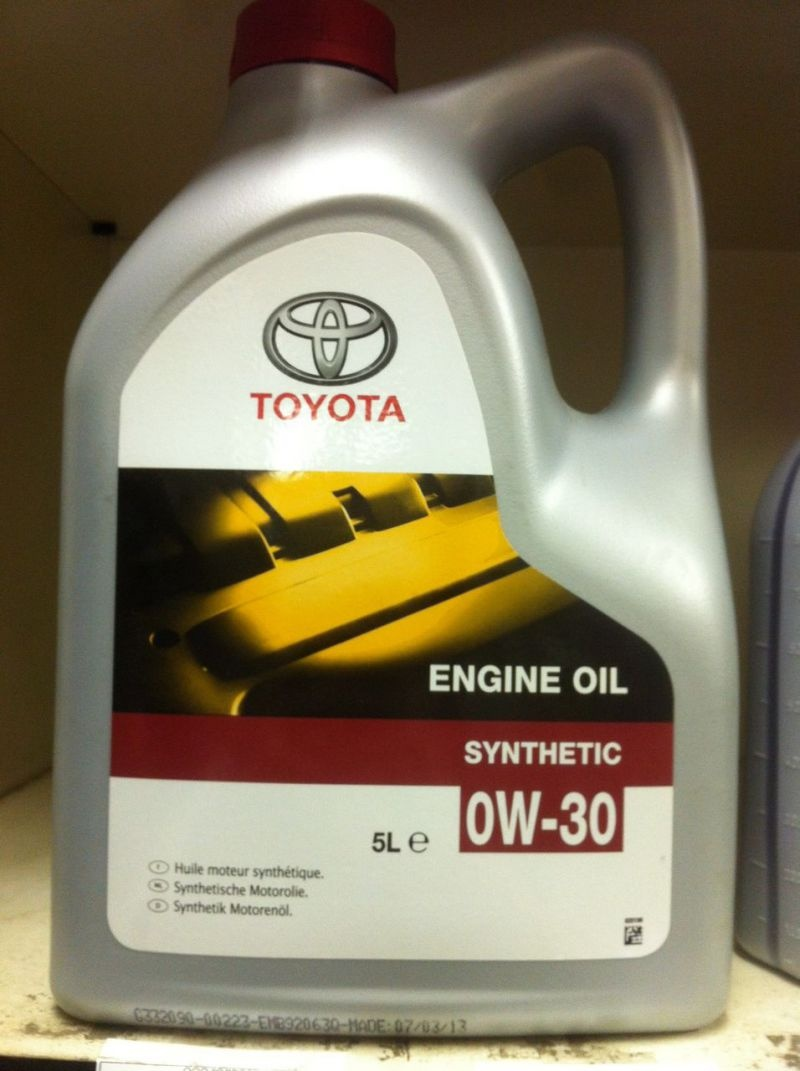 "Toyota ""Engine Oil"""