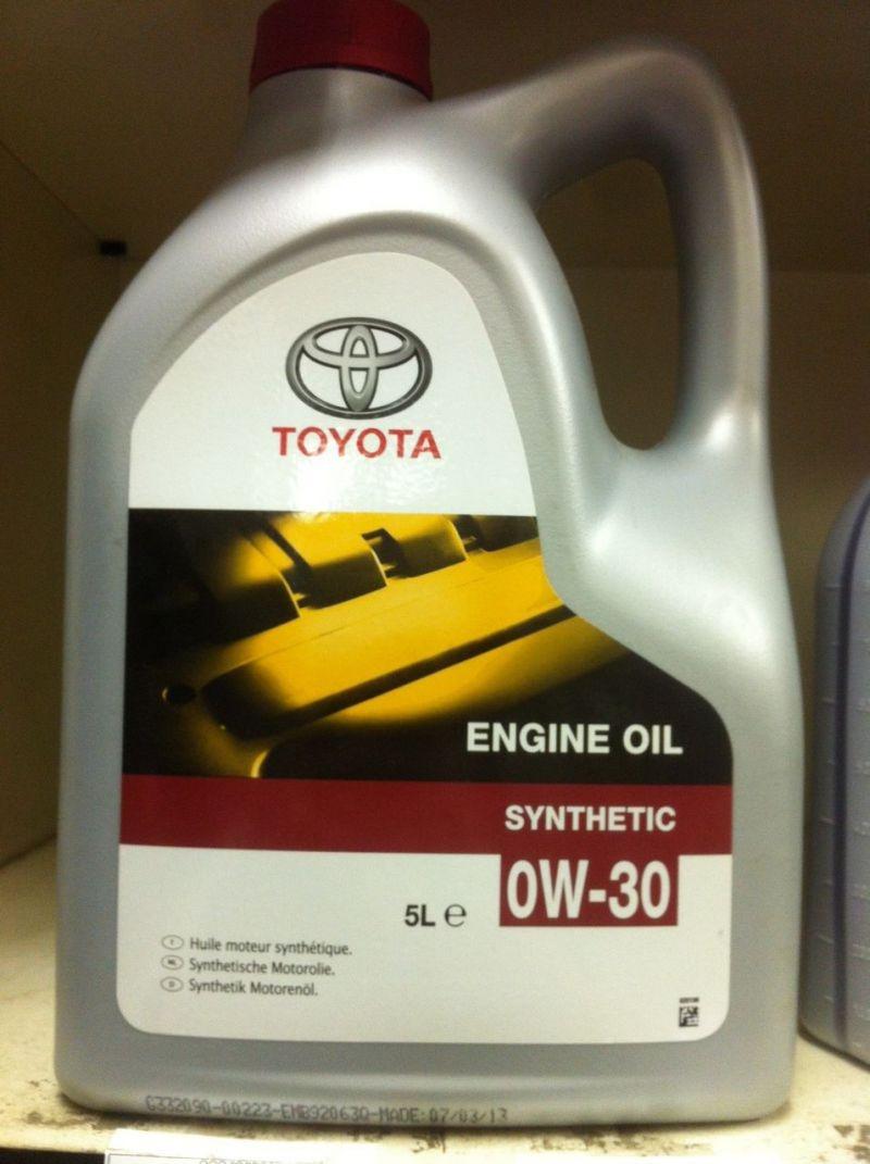 "Toyota ""Engine Oil"""