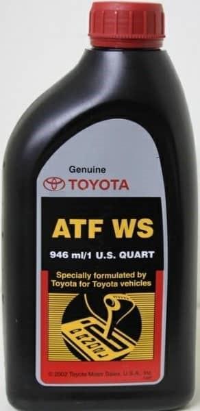 Фирменное масло Тойота