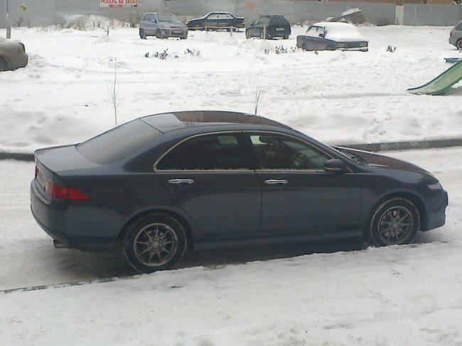 Авто во время зимней эксплуатации