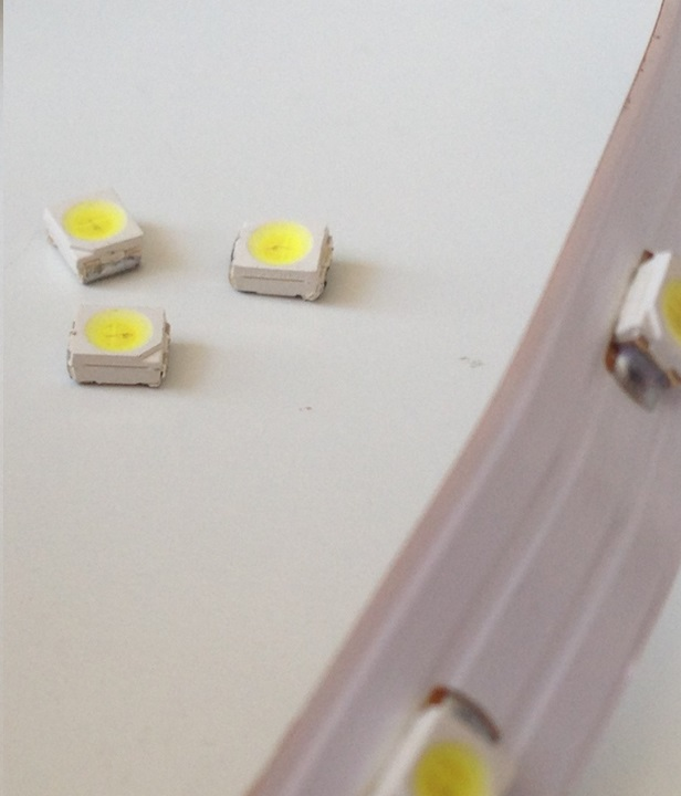 Светодиоды демонтированные со светодиодной ленты
