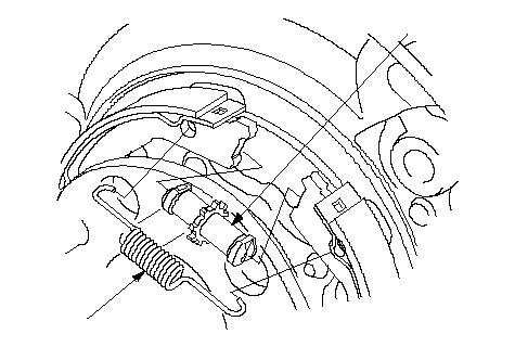 Место расположения пружины и блока регулятора