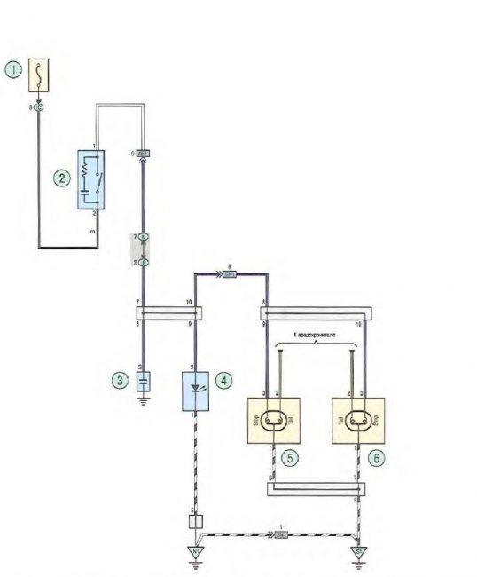 Схема подключения стоп-сигналов