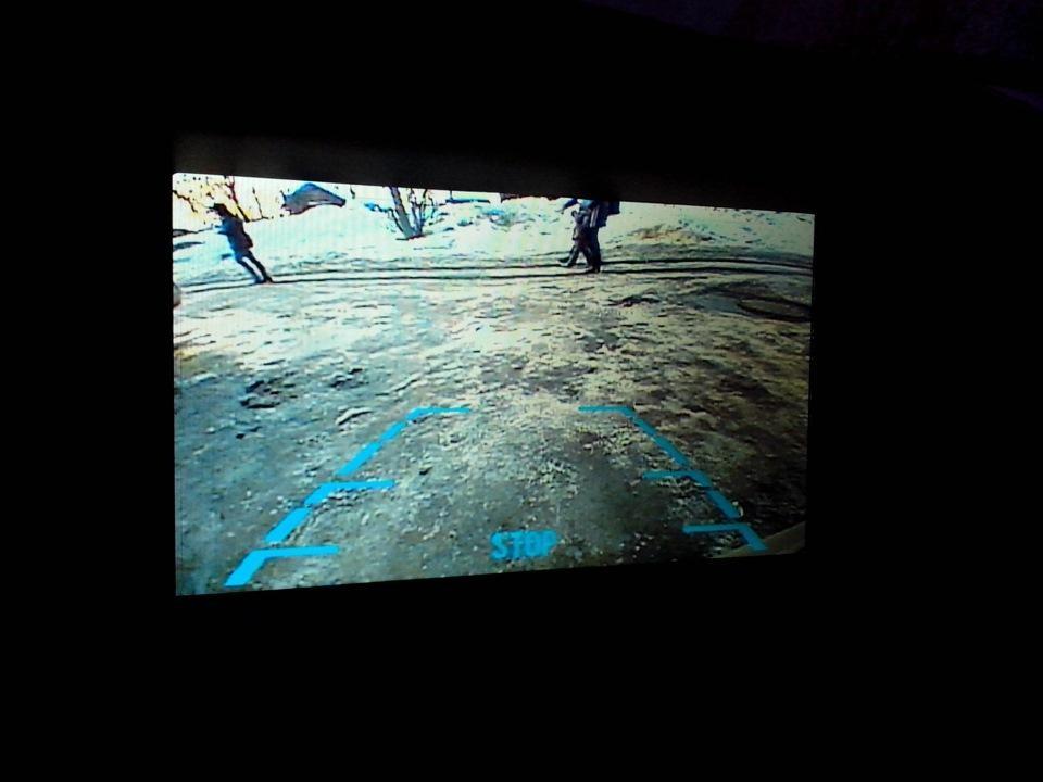 Изображение на экране ГУ мультмедиа системы