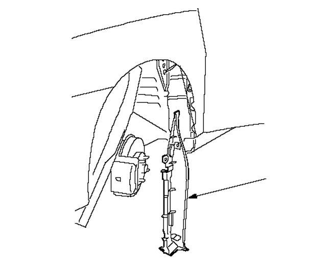 Снятие переднего подкрылка