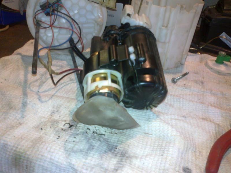 Засорившийся топливный фильтр