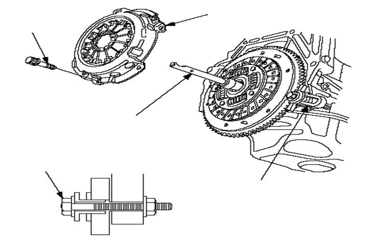 Схема снятия