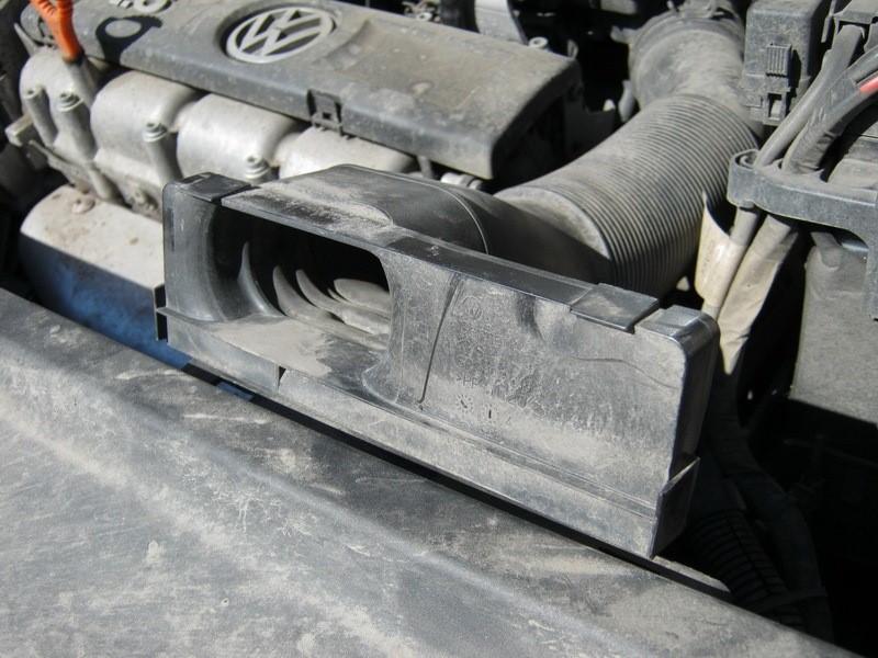 Трубка воздухозаборника