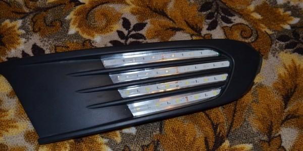 Примерка светодиодной ленты
