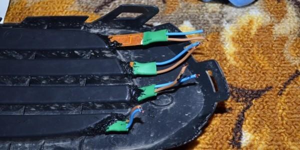 Расположение электрических выводов