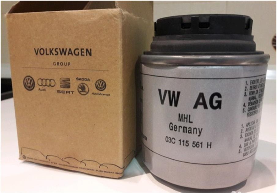 Оригинальный масляный фильтр VAG 03C115561H