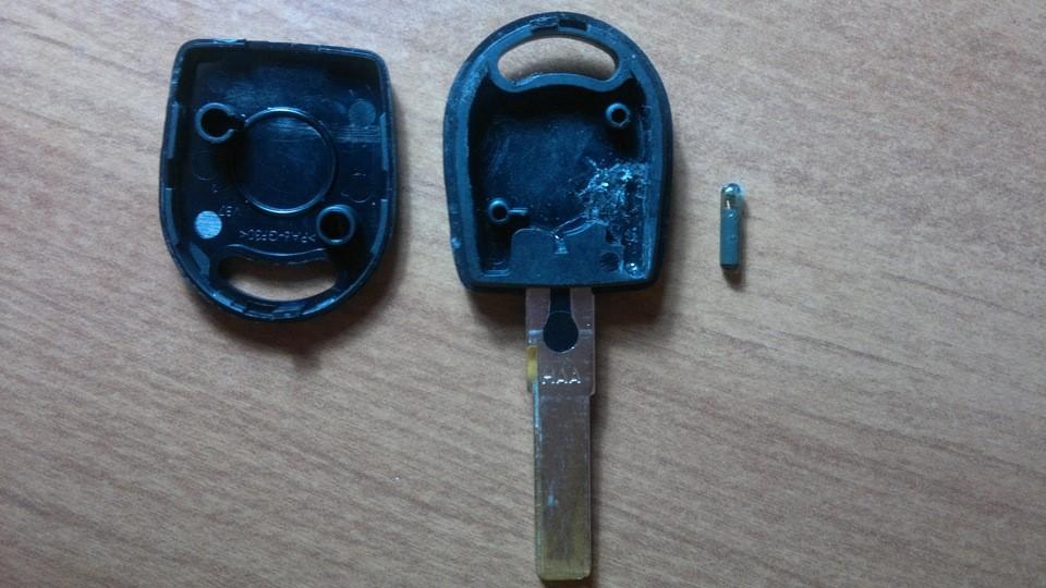 Разобранный ключ