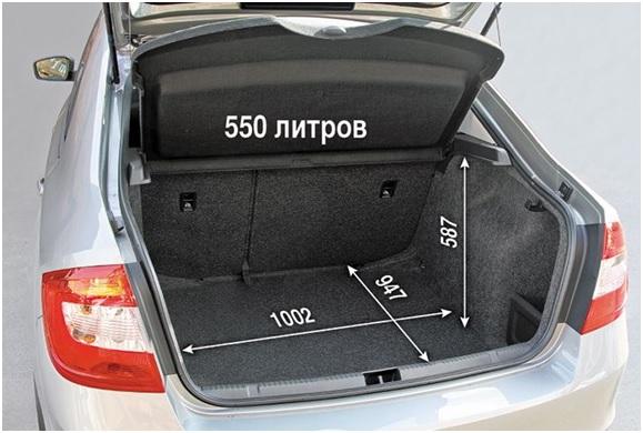 Пространство багажника