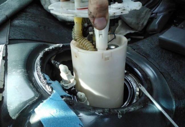 Демонтаж топливного стакана