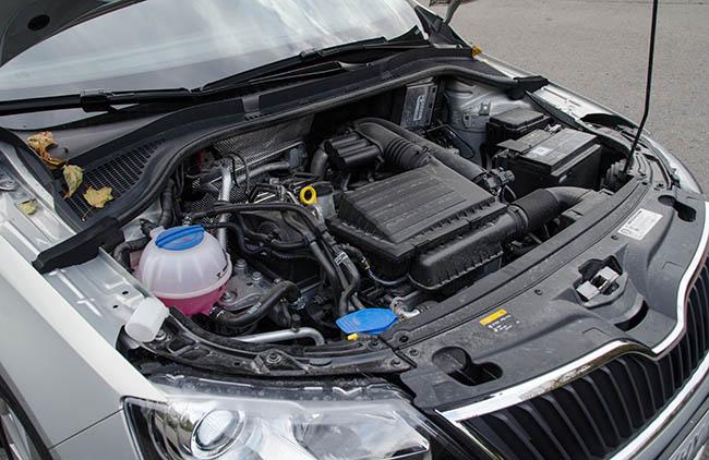 Двигатель SKODA 1.4 TSI с маркировкой CZCA (EA211)