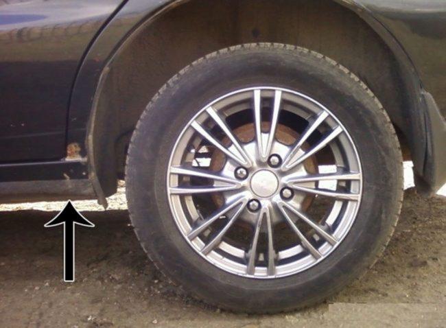 Увеличенный клиренс Chevrolet Lacetti