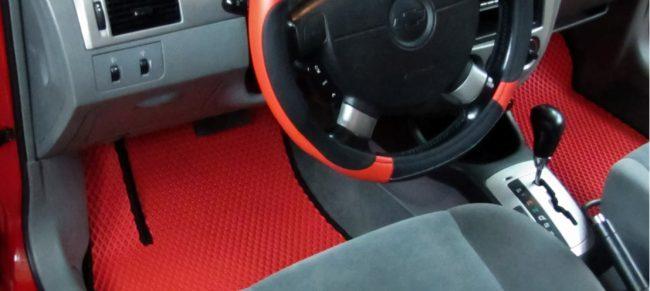Коврик под водительское сиденье