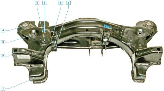 Подвеска шевроле лачетти седан схема