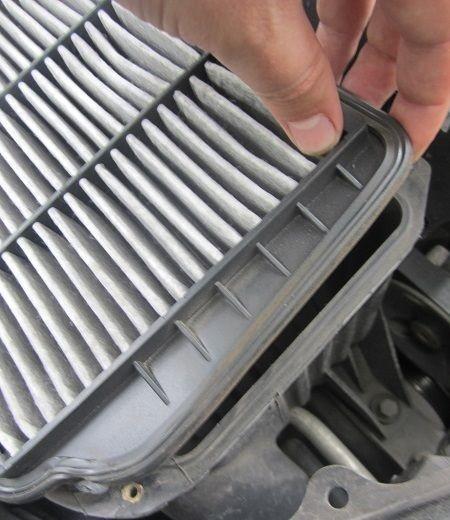 Процесс демонтажа фильтра с корпуса