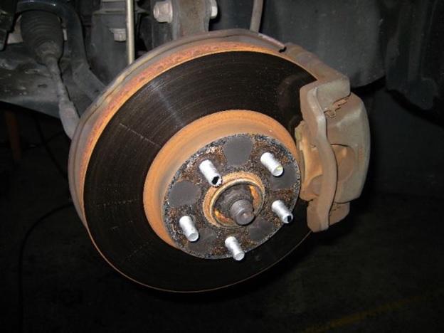 Устранение проблем с подтормаживающим колесом