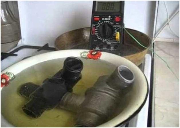 Процесс контроля работоспособности термостата