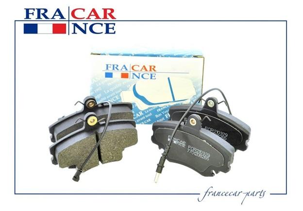 Тормозные колодки francecar отзывы