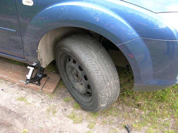 Вывернутое колесо