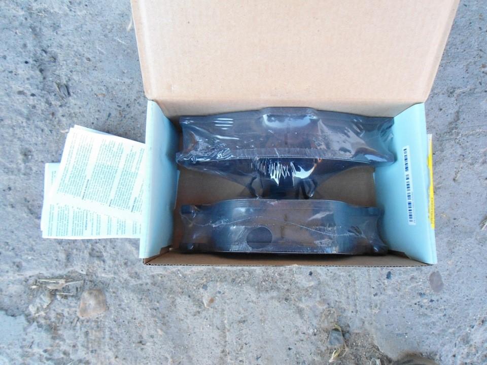 Комплект дисковых тормозных колодок Blue Print