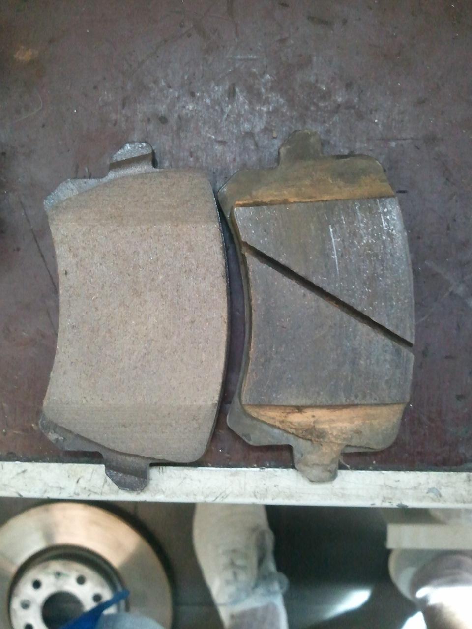 Сравнение стандартных колодок АТЕ и Ceramic