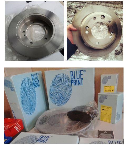 Диски blue print