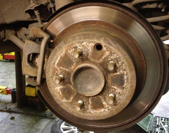 Задний диск