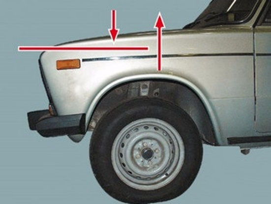 Плоскость качания автомобиля