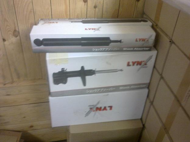 Упаковка стоек амортизатора Lynx