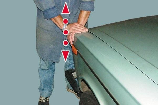 Раскачивание машины