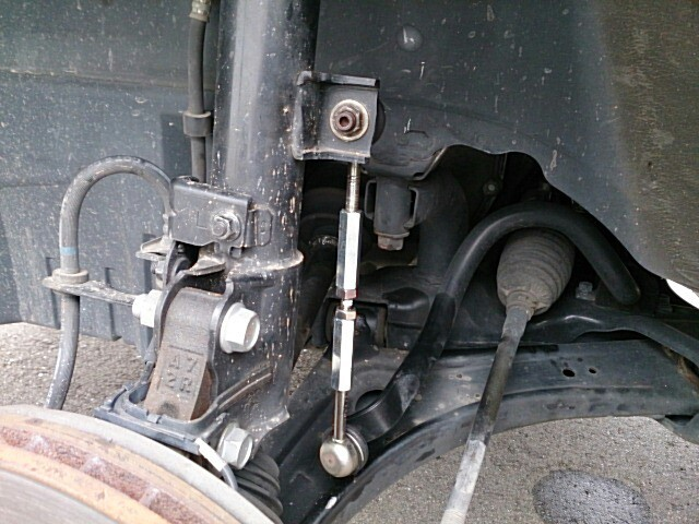 Восстановленная стойка стабилизатора после слома штока