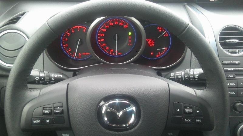 Панель приборов авто в комплектации 2WD AT5 Touring