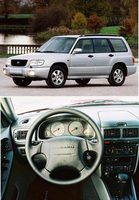 1 поколение Subaru Forester