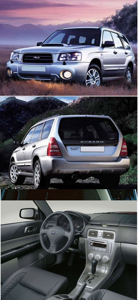 2 поколение Subaru Forester