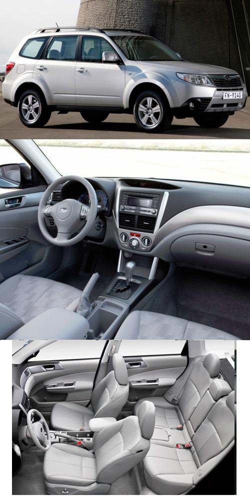 3 поколение Subaru Forester