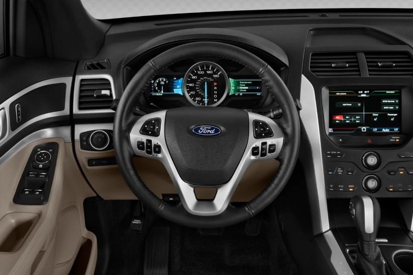 Четвертое поколение Форд Эксплорер