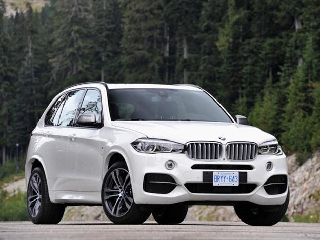 Внешний вид BMW X5