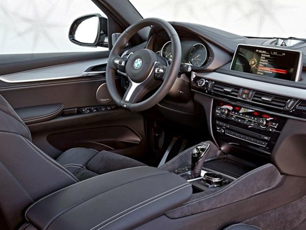 Салон автомобиля BMW X6