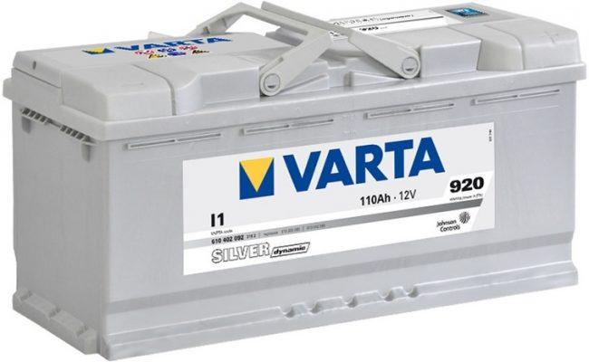 Аккумулятор Varta для Porsche Cayenne