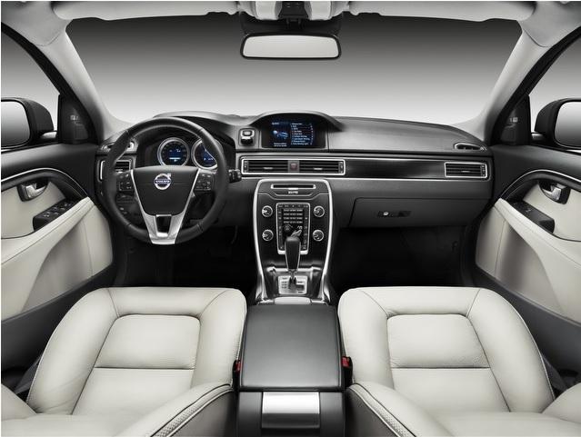 Внутренняя отделка салона Volvo XC70