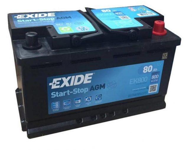 Exide Start-Stop EFB