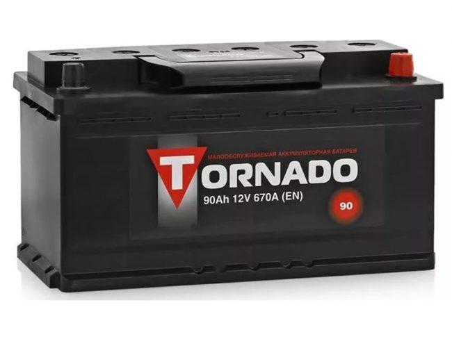 Батарея Tornado на 90Ач